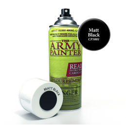 Matt Black Colour Primer
