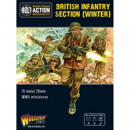 British Infantry Section...