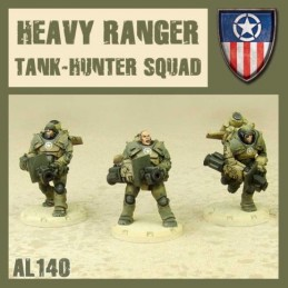 Heavy Ranger Tank-Hunter Squad