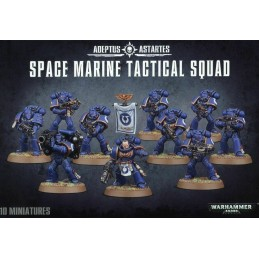 Escouade tactique space marine