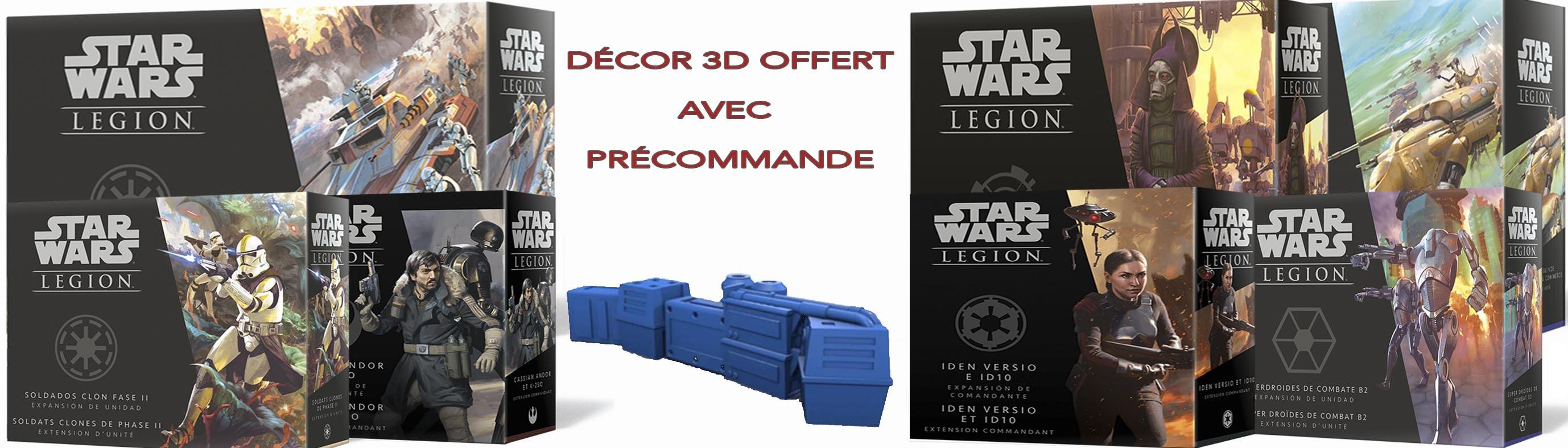 Précommande Figurines Star Wars